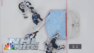 Avs' Nazem Kadri scores ultimate buzzer-beater with exactly .1 left to defeat Blues | NBC Sports
