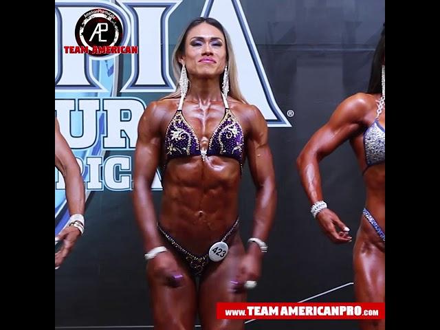 EVELYN SANCHEZ - WOMEN'S FIGURE MASTER -TEAM AMERICAN - www.TeamAmericanPro.com