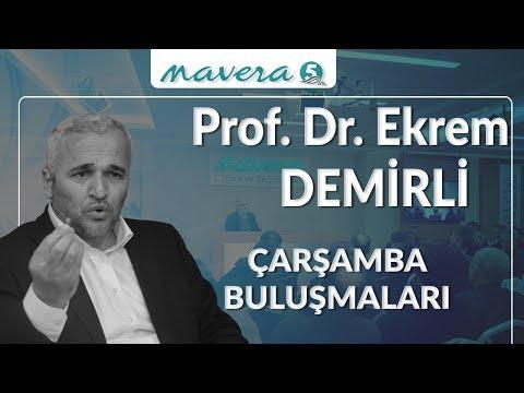 """Prof. Dr. Ekrem Demirli """" İslam Düşüncesinde Tanrı İnancı ve Ahlak İlişkisi"""""""