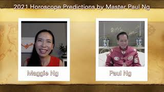 2021, Year of Metal OX, Zodiac Prediction, SNAKE people, Feng Shui Master, Paul Ng, Toronto, Canada
