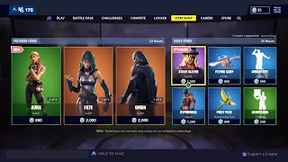 *NEW* Aura Skin out now! Omen and Fate item shop! (Fortnite Battle Royale)