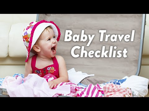 Baby Travel Checklist | CloudMom