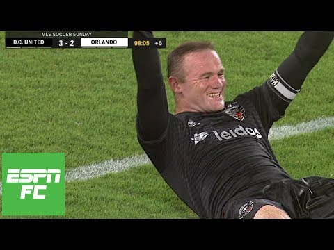 Wayne Rooney's heroics, Luciano Acosta's hat trick fuel D.C. United win [Highlights] | ESPN FC