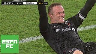 Wayne Rooney's heroics, Luciano Acosta's hat trick fuel D.C. United win [Highlights] | ESPN FC