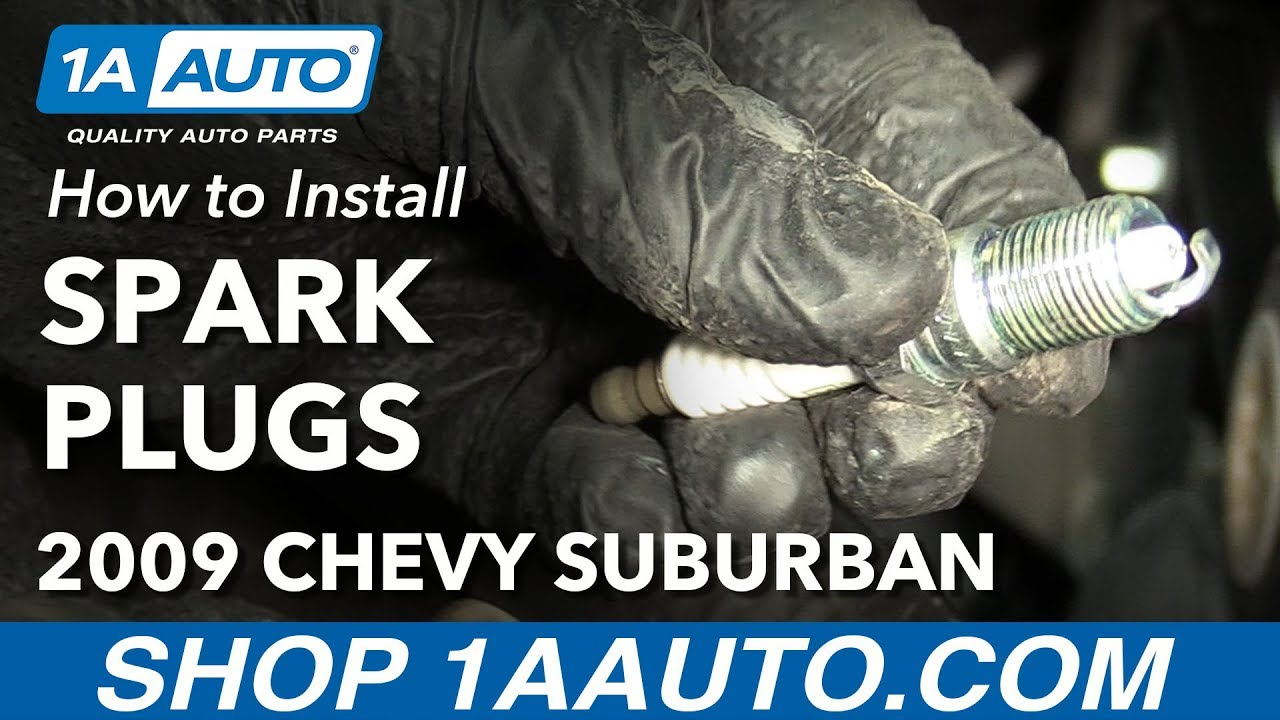 How To Replace Spark Plugs 00 14 Chevy Suburban 1500 Youtube 53 Vortec Wiring Harness