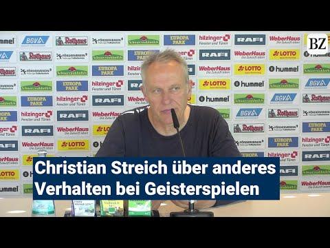 Christian Streich schlägt Geisterspiele als Thema für Doktorarbeit vorиз YouTube · Длительность: 3 мин37 с
