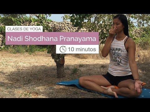 Clases de Yoga: Nadi Shodhana Pranayama (10 min)