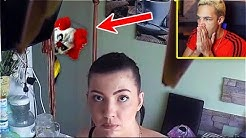 ich hackte Webcams & sah ein M0RD!! **sehr gruselig**