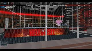 WWE Roblox Hell in A Cell | 2k18