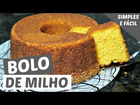 BOLO DE MILHO SIMPLES E FÁCIL (Bolos caseiros #2) | MAMÃE NA COZINHA | GEMELARES