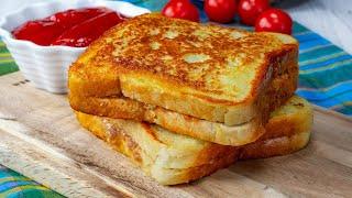 Сохраните этот рецепт Если надо срочно накормить семью приготовьте гренки с мясом Appetitno TV