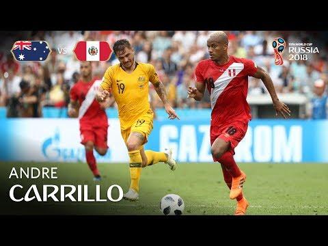 Andre CARRILLO Goal - Australia v Peru - MATCH 38