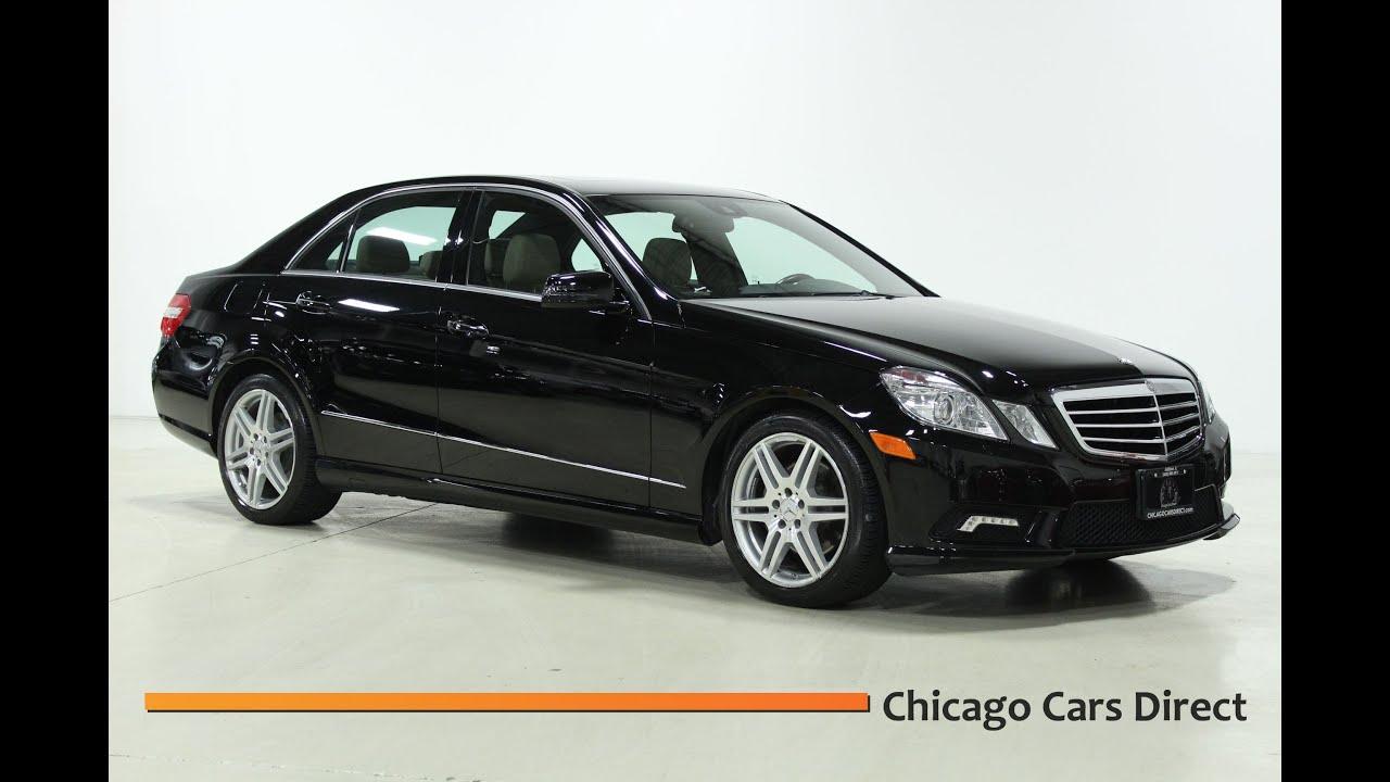 Chicago cars direct presents a 2010 mercedes benz e350 4matic awd black almond 141251
