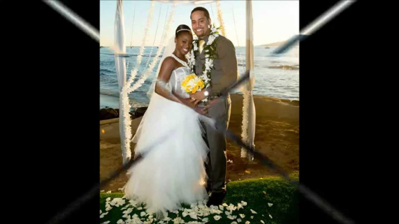 Wwe : Naomi & Jimmy Uso wedding photos - YouTube