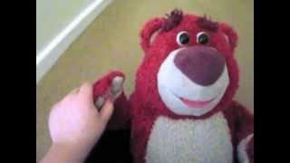 Lottso hugging bear - first ever film