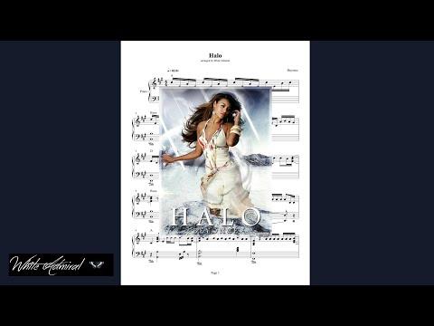 Halo  Beyonce  Piano
