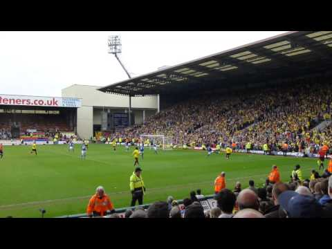 FROM THE STAND: Watford score after Leicester miss penalty (watch in HD)