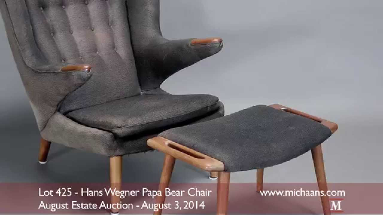 Hans Wegner Papa Bear ChairYouTube