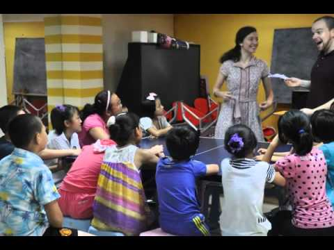 Ohio State University students participate in community services in Qingdao, China