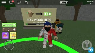 code code Woodcutting Roblox giveaway. under the clip.