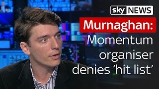 Murnaghan | Momentums James Schneider denies Labour hit list