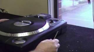 DJ turntable repair