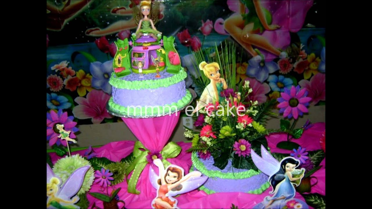 tinkerbell decoration by scarlet - YouTube