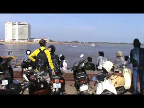 Boat Racing Festival In Phnom Penh City | Trip To Tonle Bati and Kandal | Cambodia Royal Palce