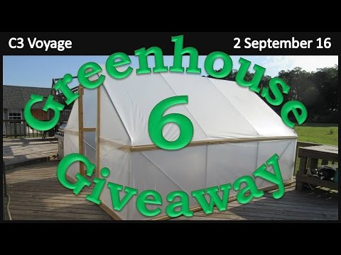 Greenhouse Giveaway:  Part 6 - The Big Cover Up