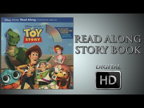 Toy Story - Read Along Story book - Digital HD - Tom Hanks - Tim Allen - Don Rickles - Annie Potts