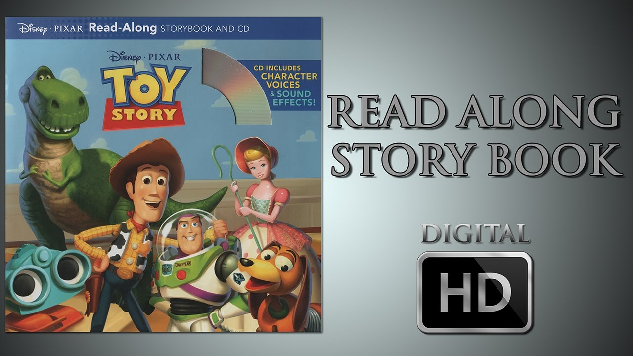 Toy Story Read Along Story Book Digital Hd Tom Hanks Tim