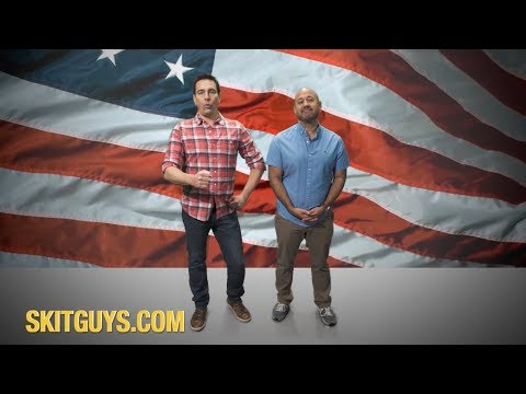 Skit Guys 4th of July Greeting