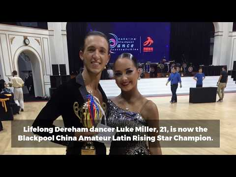 Budding Strictly Come Dancing star wins top Chinese dancing competition