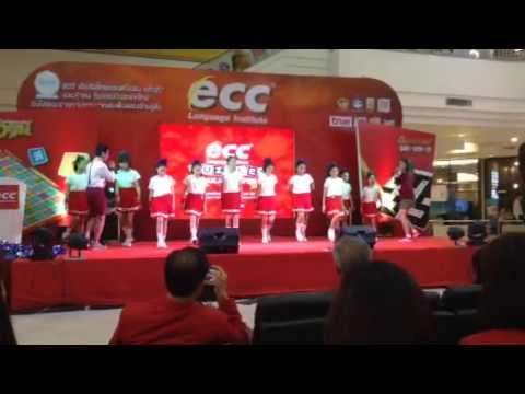 เต้นเปิดงาน Crosswords Puzzle Thailand 2016