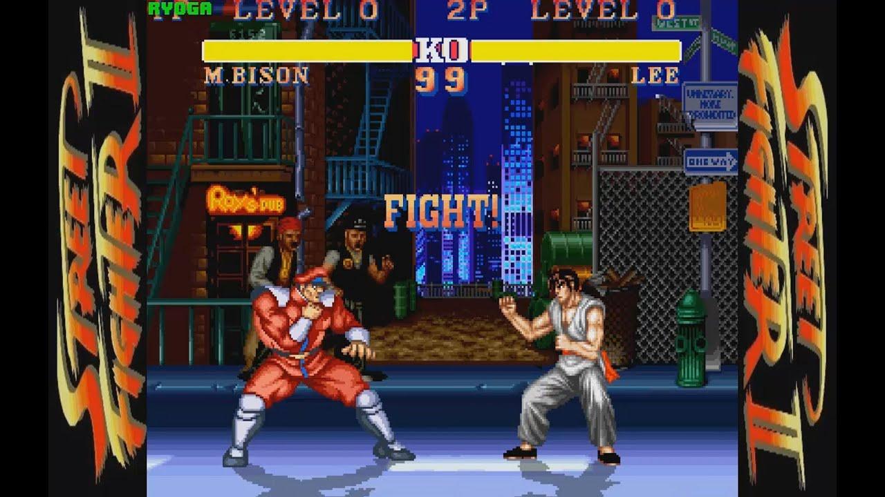 street fighter ii deluxe pc longplay m bison playthrough no