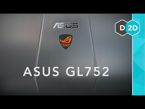 """ASUS GL752 Review - 17"""" Budget Gaming Laptop (Late 2015)"""