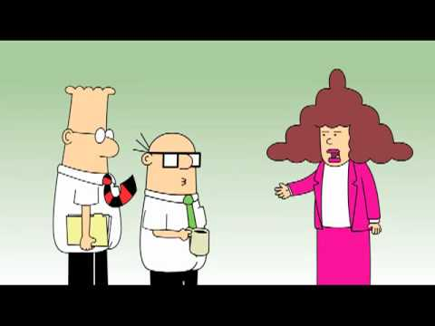 Dilbert Animation:  Recession Blues and Alice's Budget