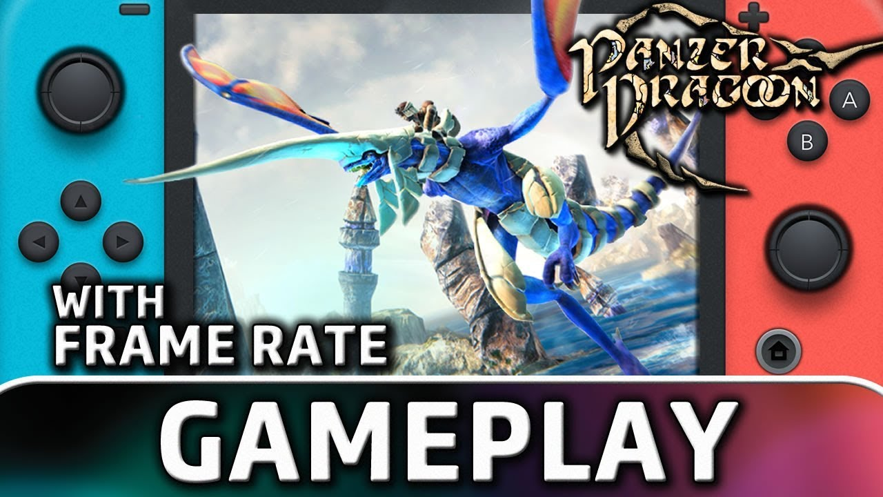 Panzer Dragoon: Remake   First 20 Minutes With Frame Rate on Nintendo Switch
