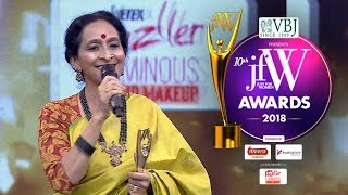 Bombay Jayashree at JFW awards 2018 20-11-2018 JFW Show