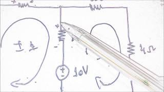 Circuito com duas Malhas Análise de Malhas por Jadson Caetano Parte 1