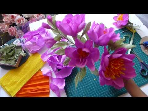 видео: Отходы в доходы или как я использую обрезки бумаги от больших цветов 2