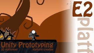 2D Prototyping in Unity - Tutorial - Platformer - Platform Prefab Creation