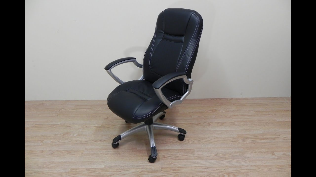 Sillon de oficina reclinable y con ruedas muy comodo
