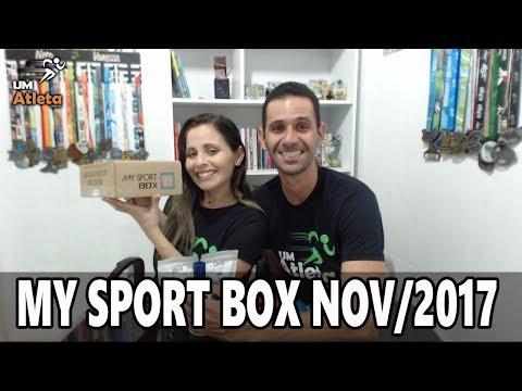 TODO MÊS UMA SURPRESA | MY SPORT BOX NOVEMBRO 2017 | UNBOXING #20 | Um Atleta