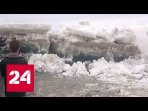 Мост через Обь начнут строить в условиях вечной мерзлоты - Россия 24
