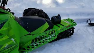 Low Rider ARCTIC CAT M8000! Awesome Mod Sled! | Part 5