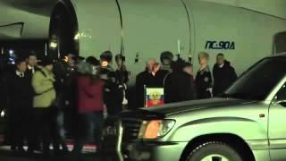 Владимир Путин прибыл в Минск 11 02 2015