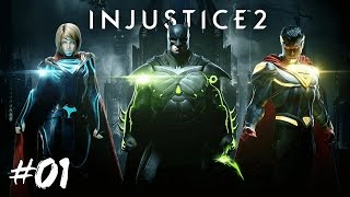 INJUSTICE 2 - FR | Épisode 1 : Batman vs Superman - Gameplay ( PS4 Pro )