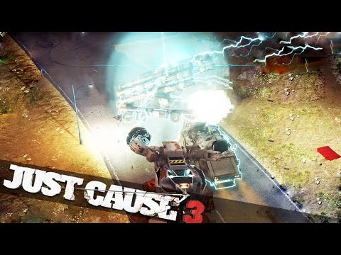 JUST CAUSE CRAZY HEAT CHASE!!! Just Cause 3 Funny Moments!