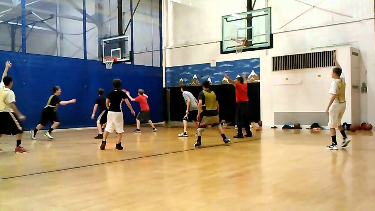 Basketball Practice Hillside Middle School Youtube